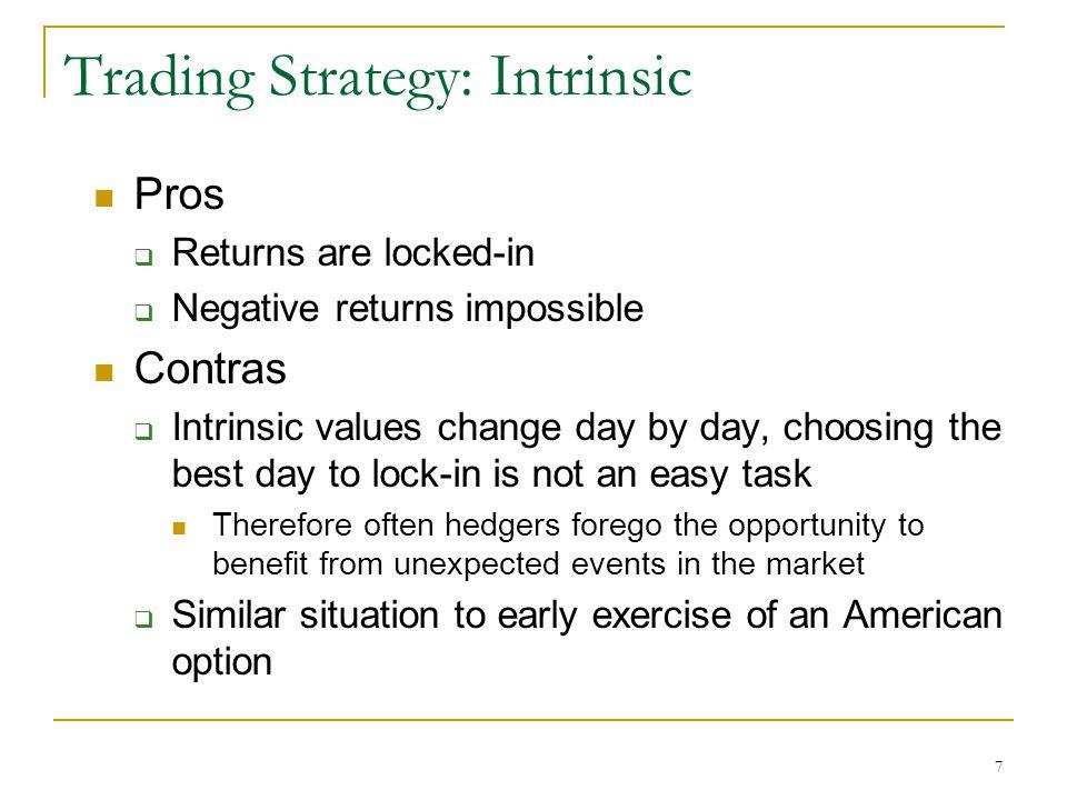 8 When does Rolling Intrinsic Make Sense?