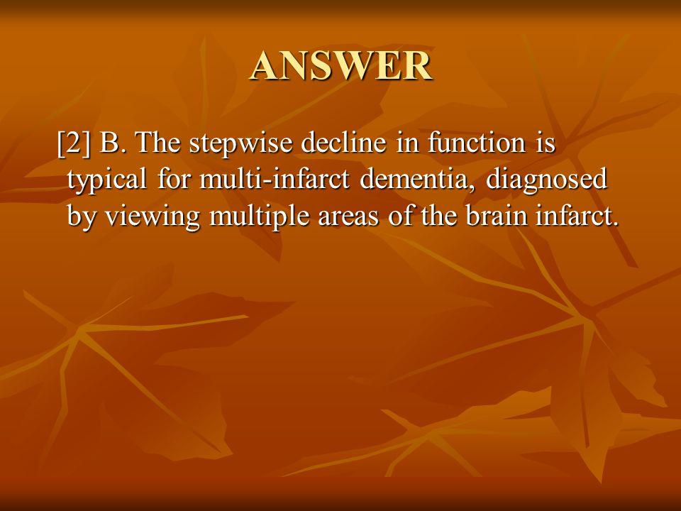 ANSWER [2] B.