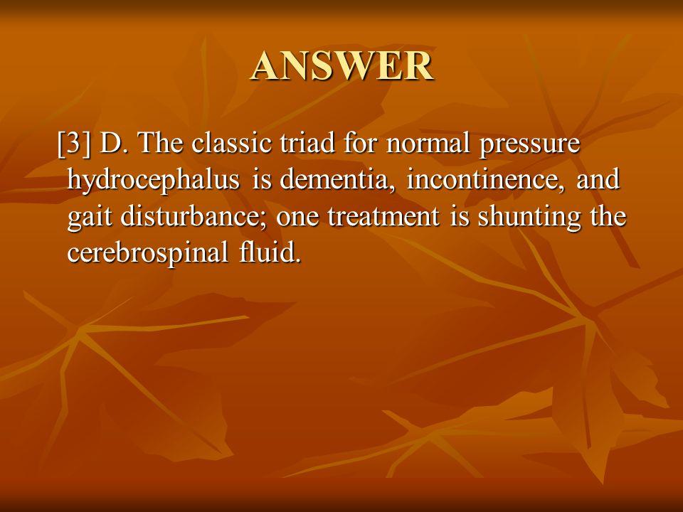 ANSWER [3] D.