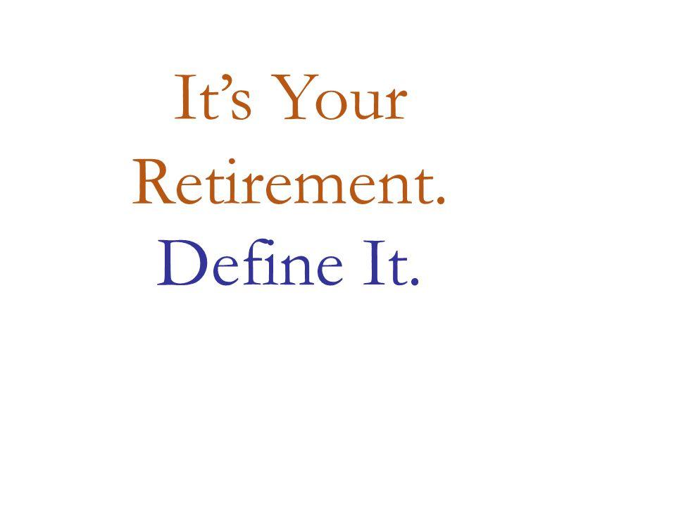 IDENTIFY YOUR RETIREMENT DREAMS.