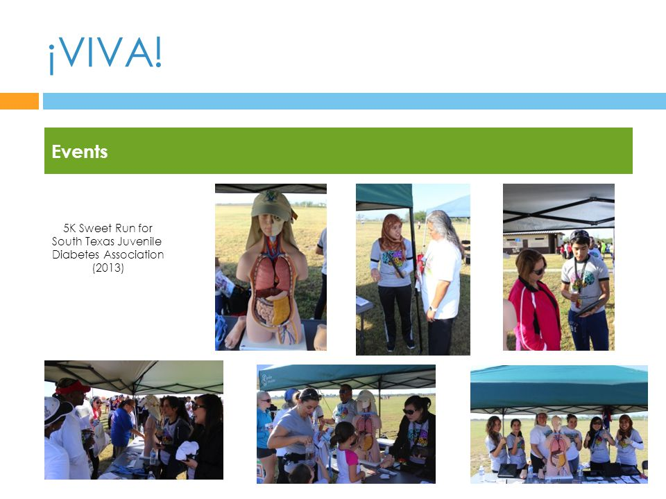 ¡VIVA! Events 5K Sweet Run for South Texas Juvenile Diabetes Association (2013)