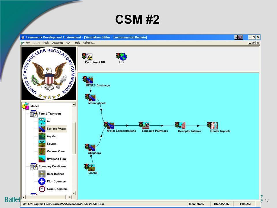 16 CSM #2