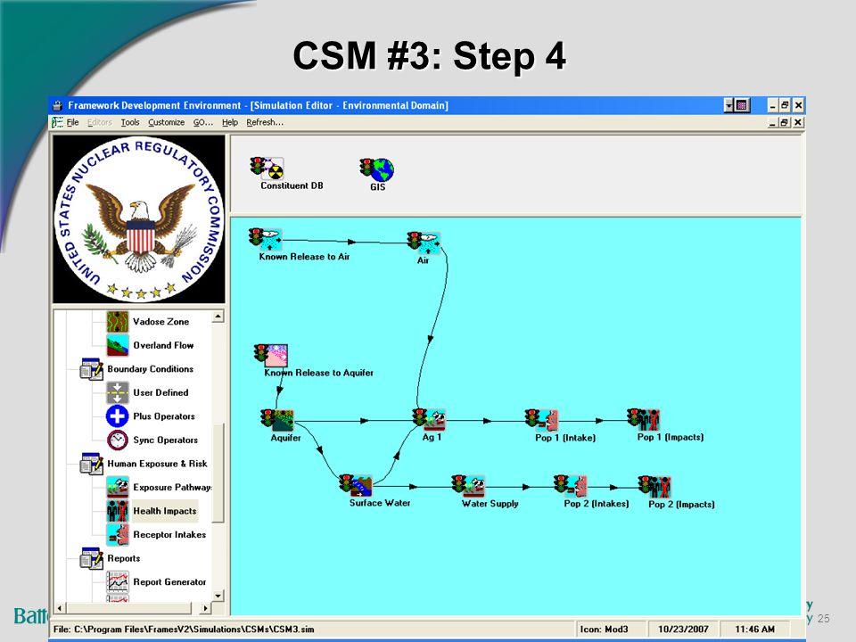 25 CSM #3: Step 4