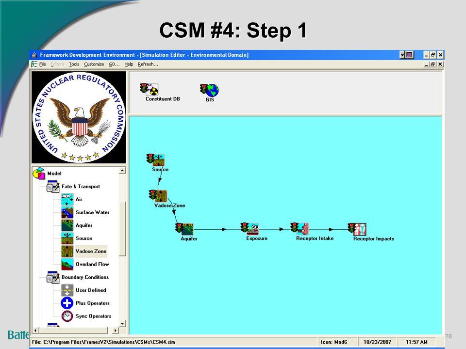 28 CSM #4: Step 1