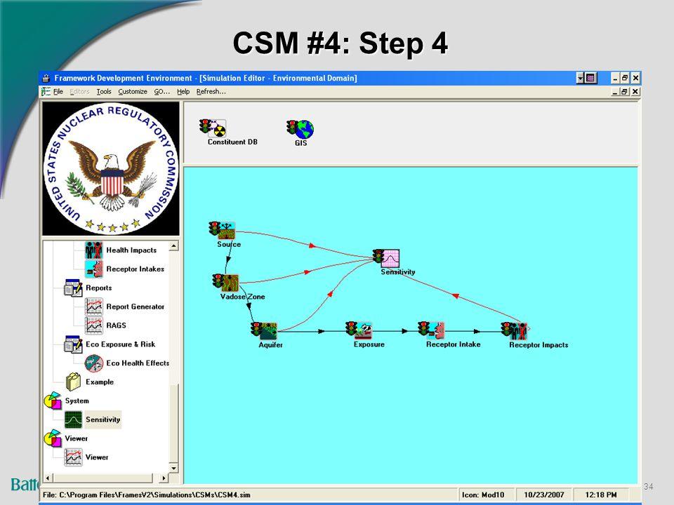 34 CSM #4: Step 4