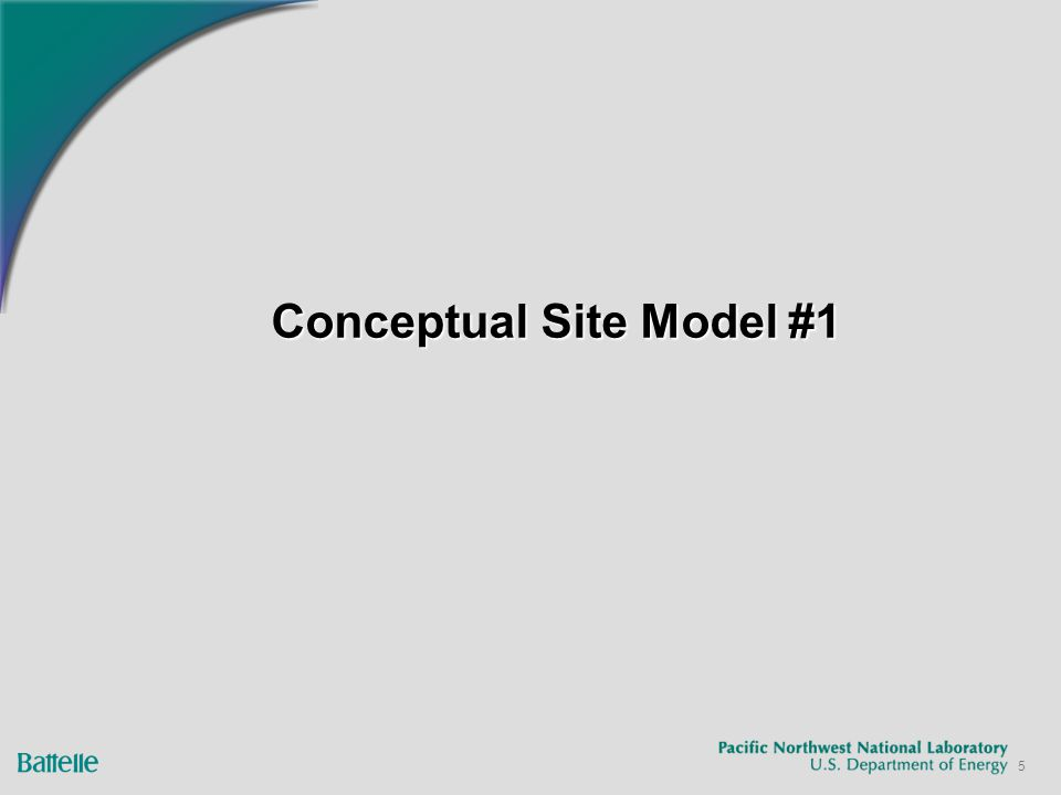 26 Conceptual Site Model #4 Linking to the Sensitivity/Uncertainty Module