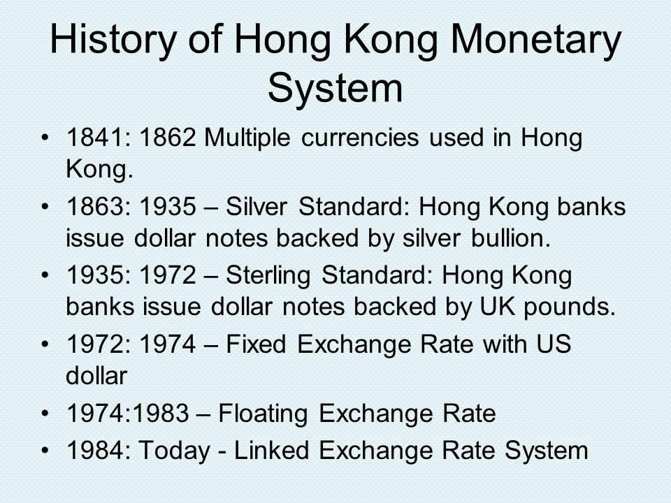 Interest Rate Cartel From 1965 to 2001, HK Association of Banks met on a regular basis to set rates for deposits of short maturity including checking and savings deposits.