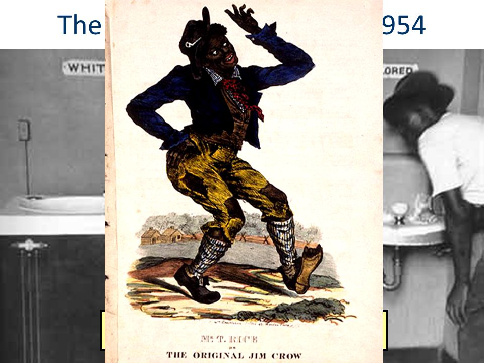 The Jim Crow Era: 1877—1954 28 Timeline Answers: 2 & 8