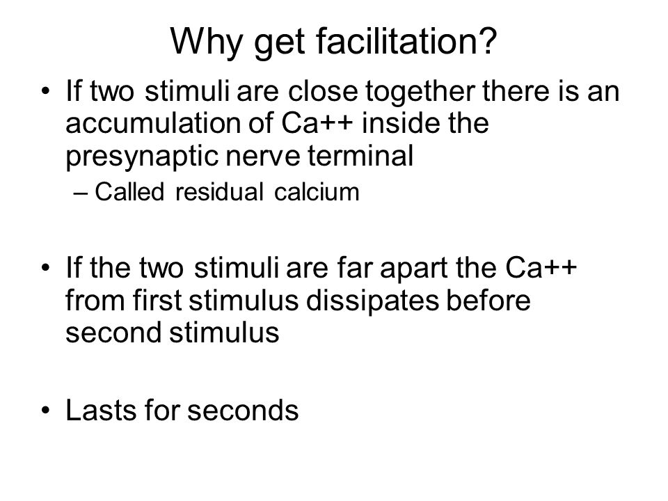Why get facilitation.
