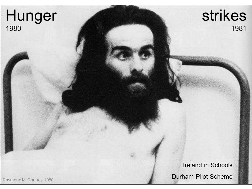 What were the hunger strikes about.