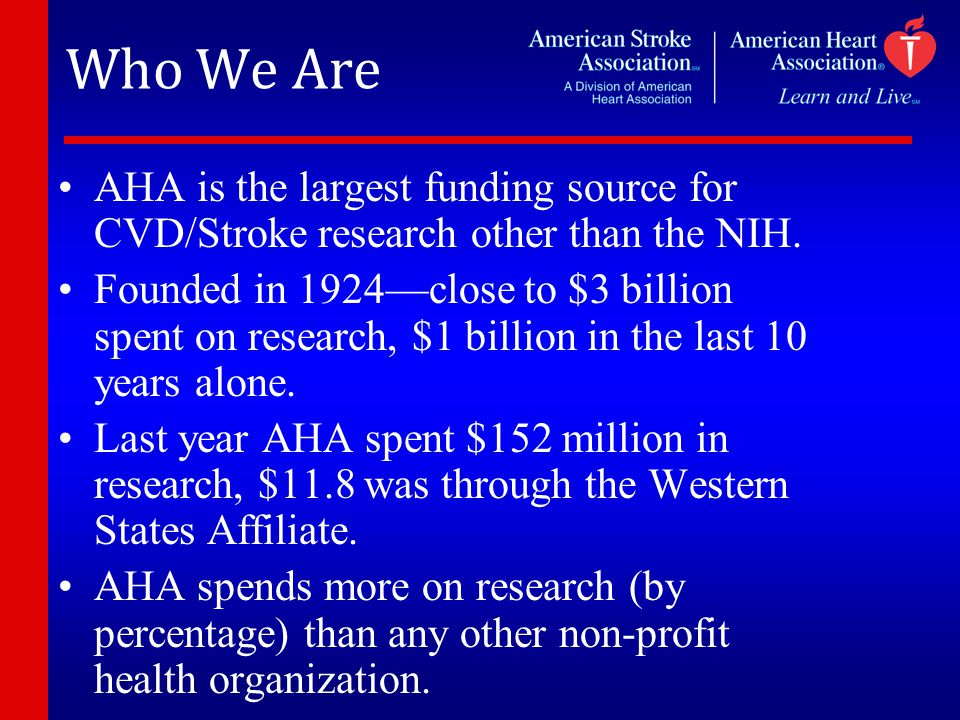 Research Funding Donor Dollar 25% 75% National CenterWestern States Research Allocation 21% 15%
