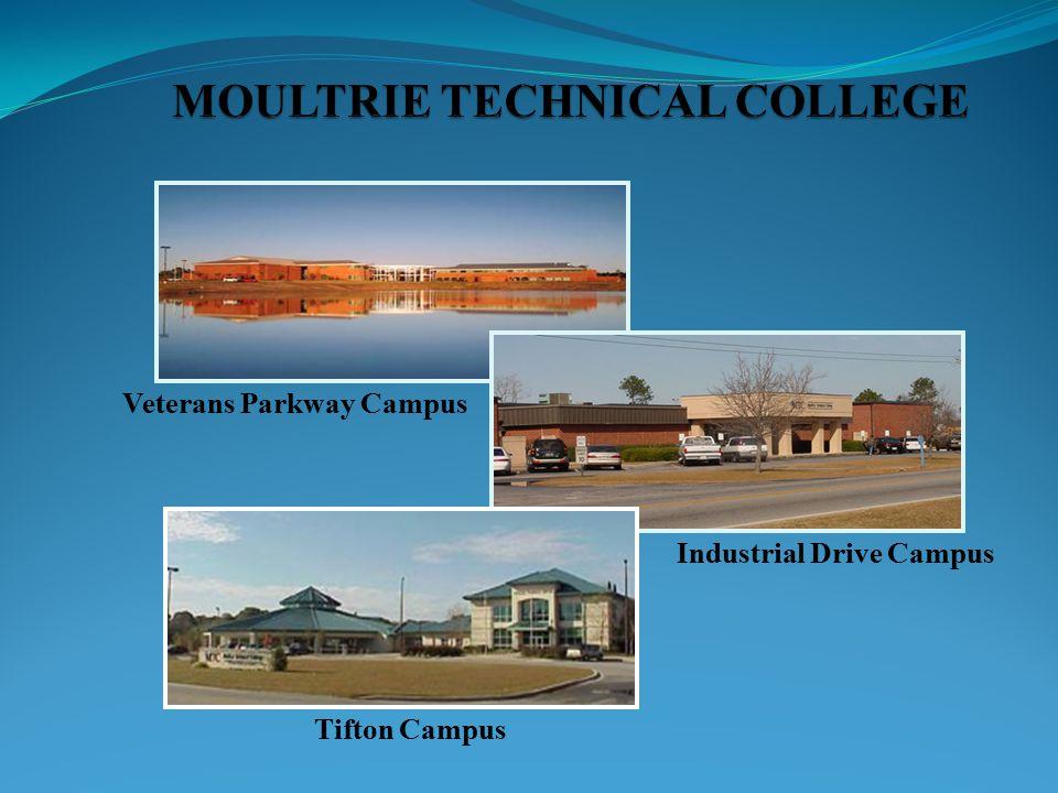 Veterans Parkway Campus Industrial Drive Campus Tifton Campus