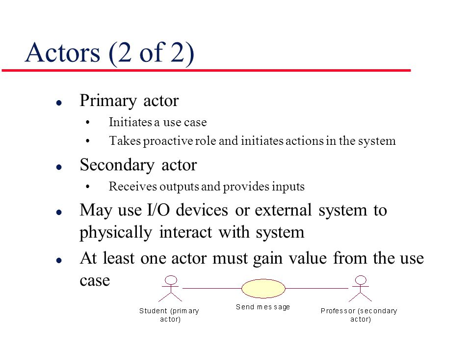 Example of Use Case (4 of 4) Alternatives:  If the system does not recognize the card, the card is ejected.