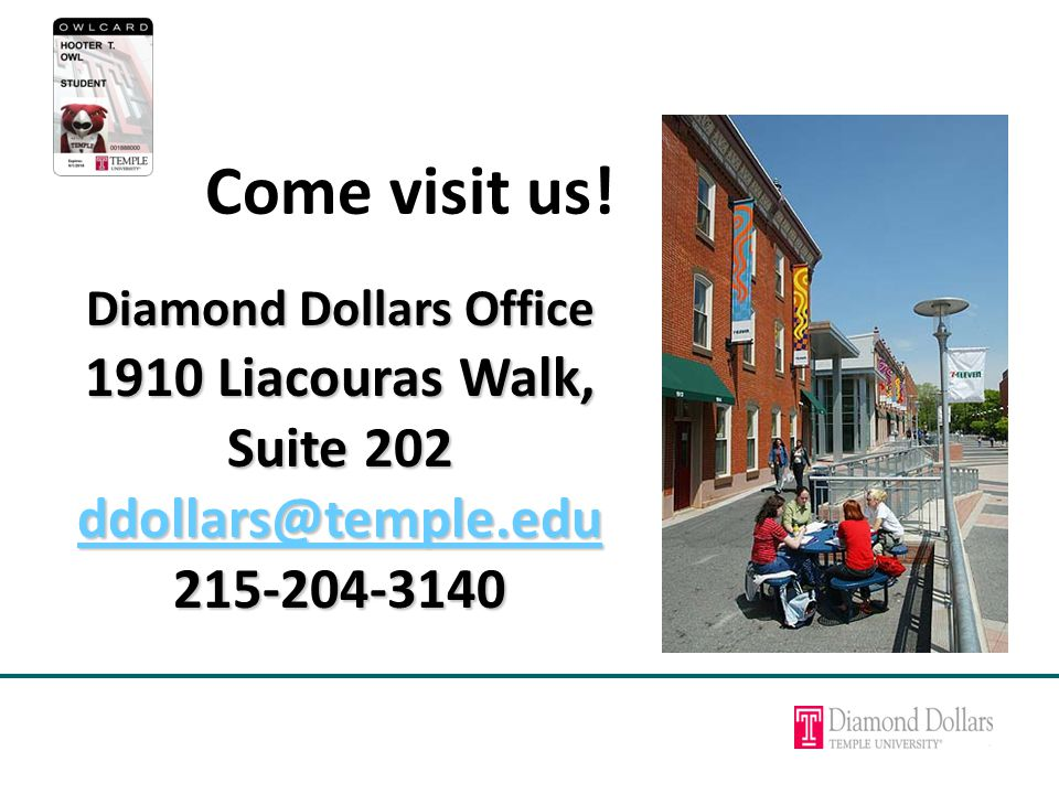 Come visit us.