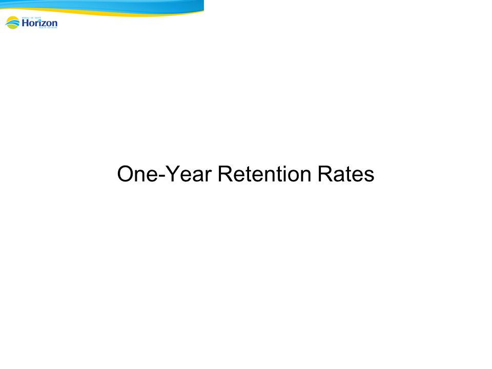 One-Year Retention Rates