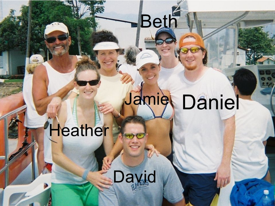 Daniel Jamie David Heather Beth