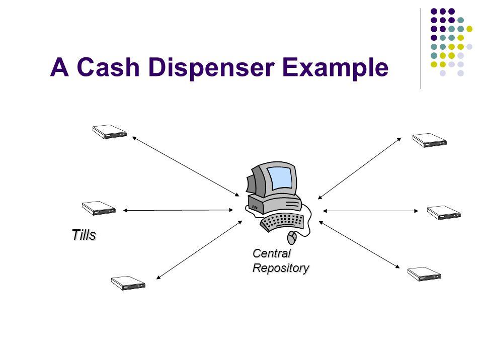 A Cash Dispenser Example Tills CentralRepository