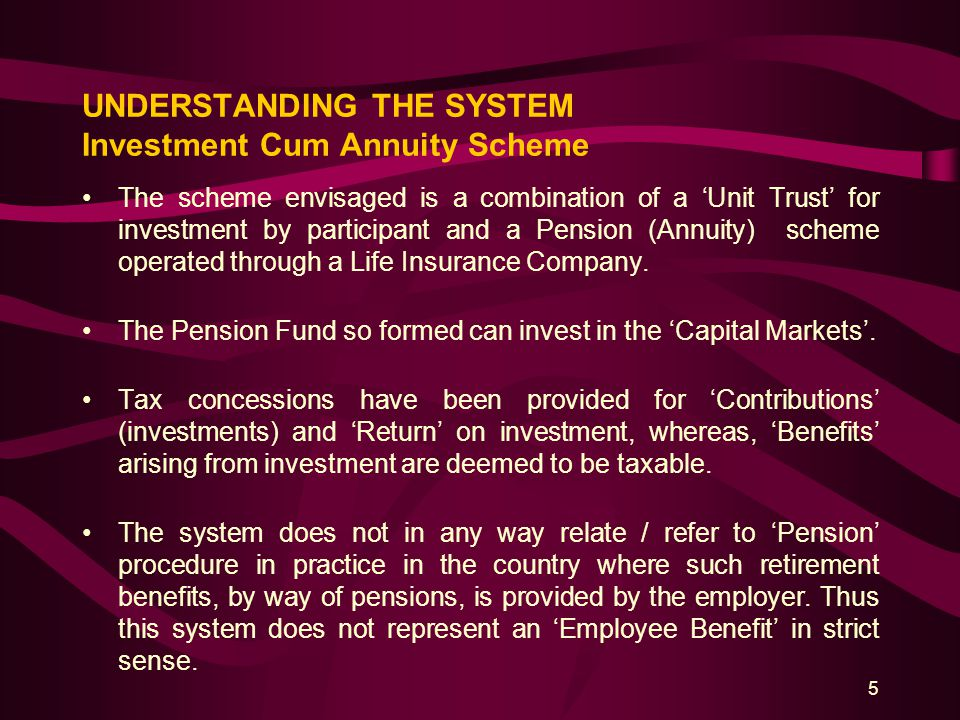 16 TAX INCENTIVES / IMPLICATION 1.Exemption to income of Pension Fund and Pension Fund Manager.