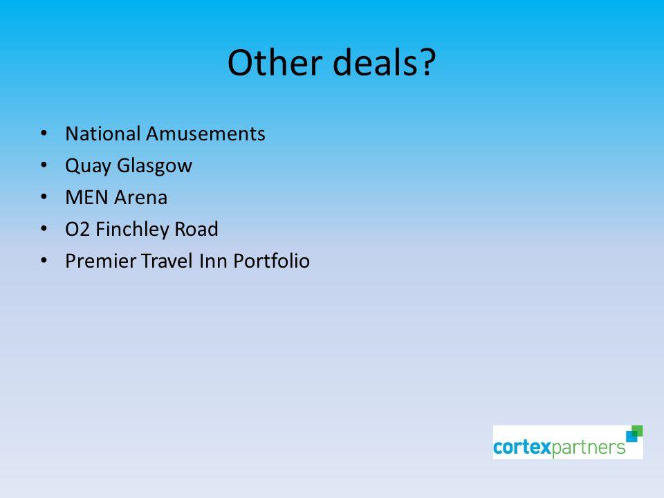 Other deals.