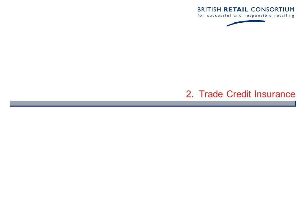 2. Trade Credit Insurance