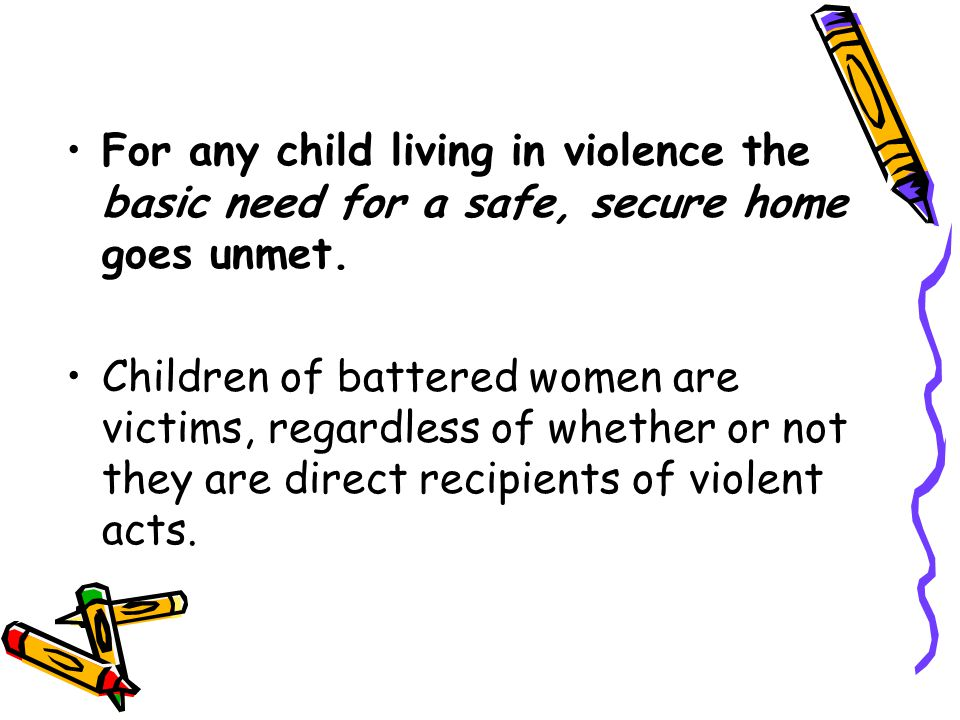 Between 50% and 75% of male batterers also abuse their children.