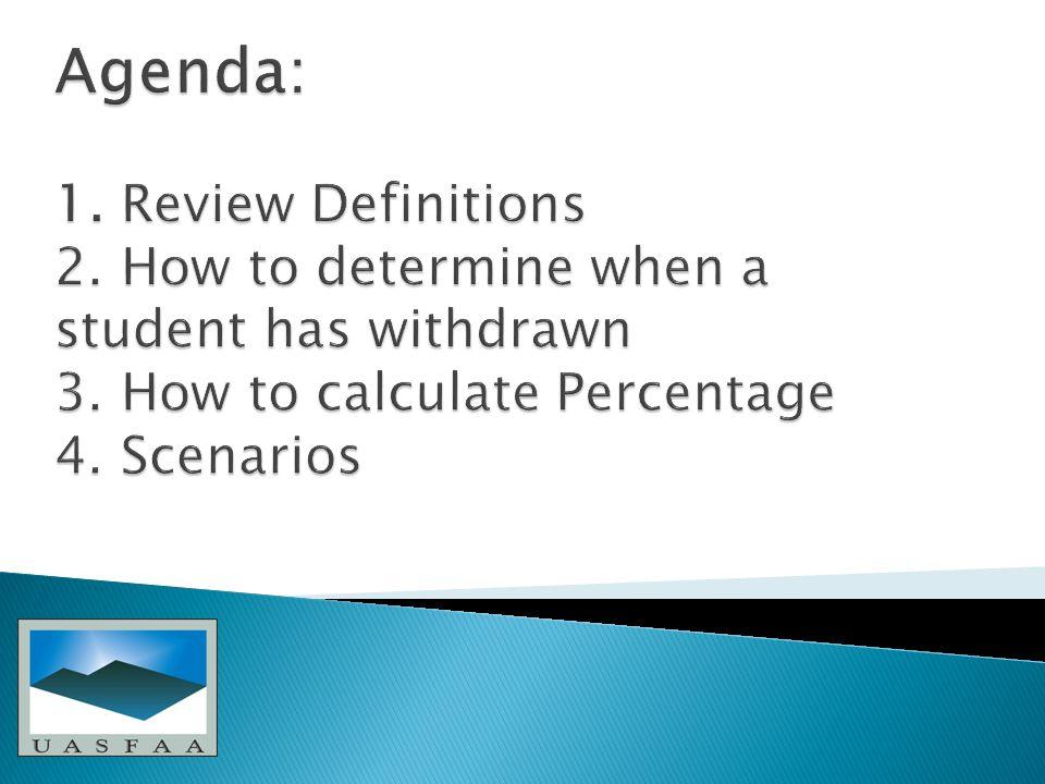 Scenarios…..