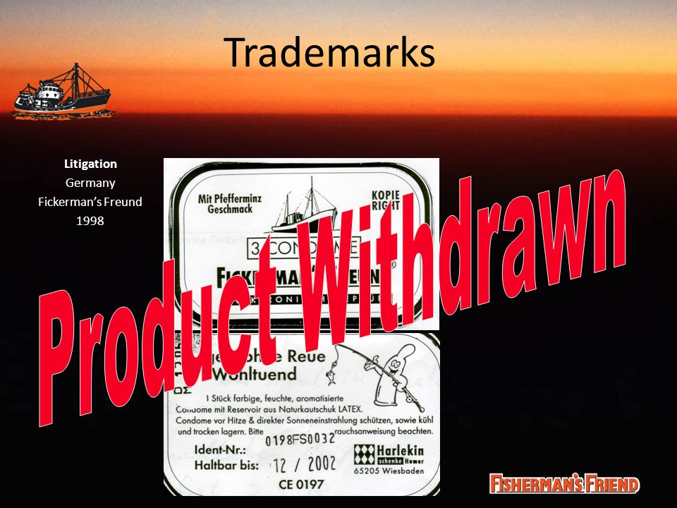 Trademarks Litigation Germany Fickerman's Freund 1998