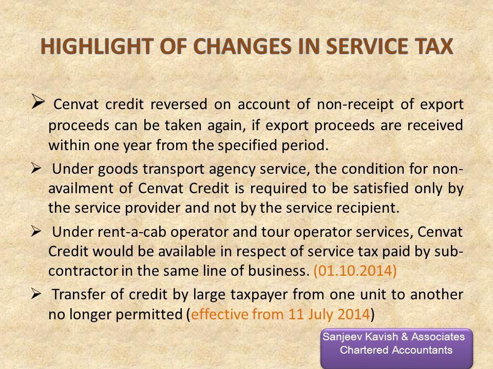  Cenvat credit reversed on account of non-receipt of export proceeds can be taken again, if export proceeds are received within one year from the specified period.