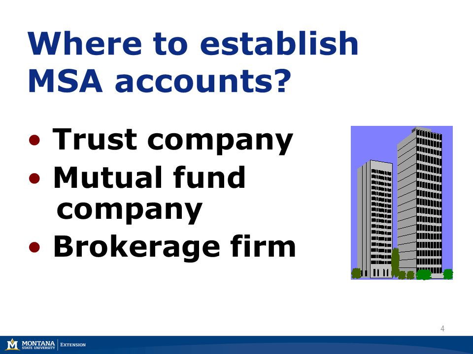 MSA Reporting Requirements File Form:  Annual Reporting Form for Self Administered Individual Accounts  Department of Revenue www.revenue.mt.gov 45