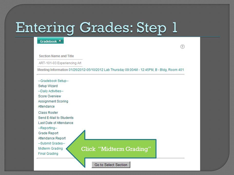 Click Midterm Grading