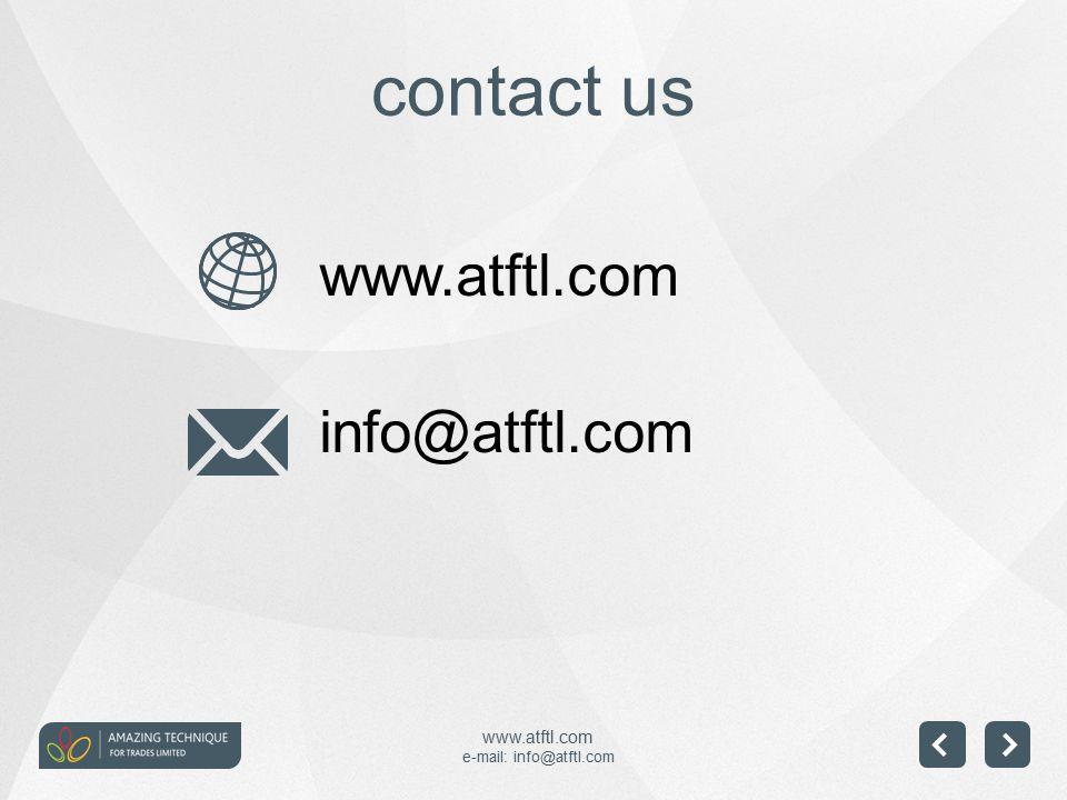 www.atftl.com e-mail: info@atftl.com www.atftl.com info@atftl.com contact us