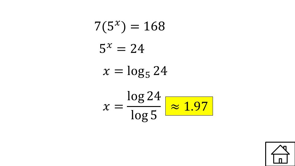 Graph and Identify the domain and range Answer