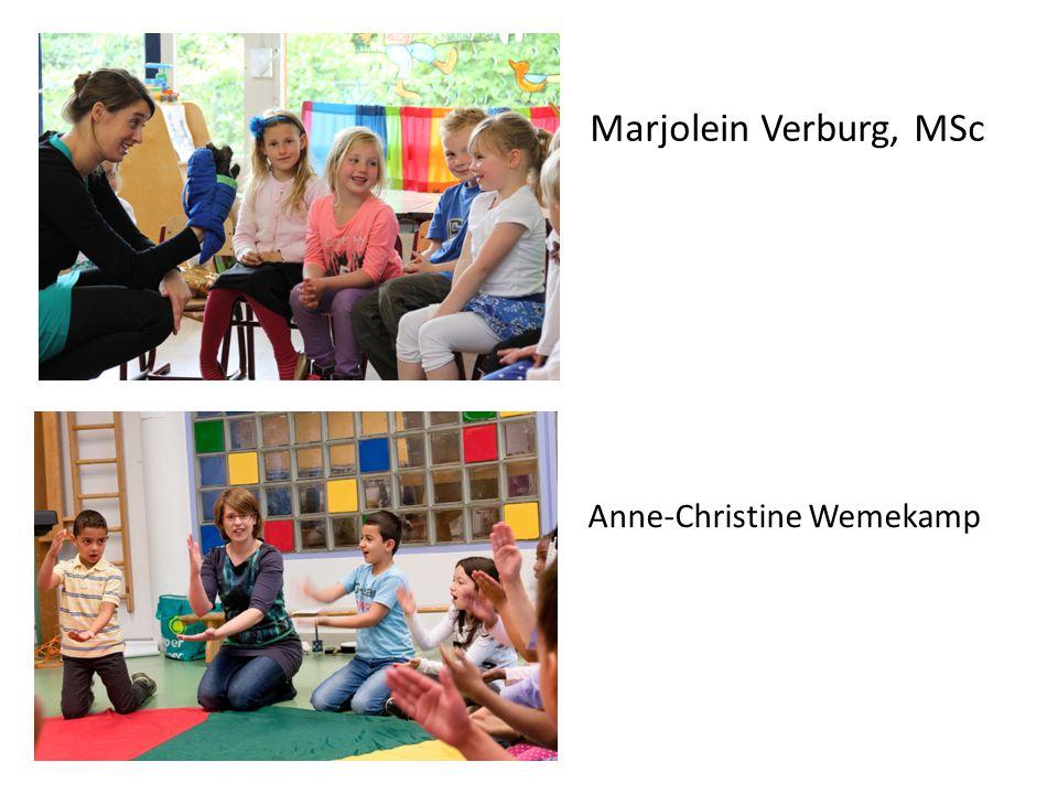 Marjolein Verburg, MSc Anne-Christine Wemekamp