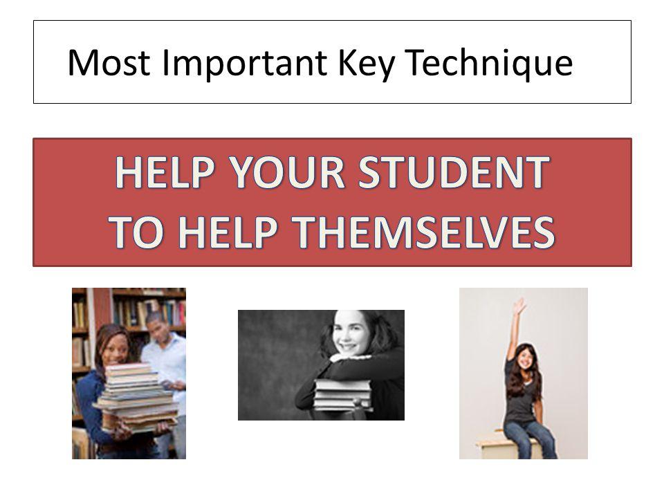 Most Important Key Technique
