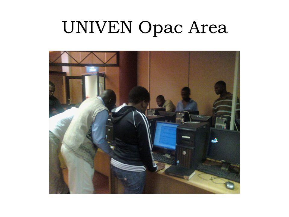 UNIVEN Opac Area