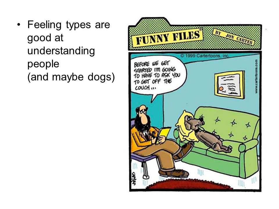 Feeling types are good at understanding people (and maybe dogs)