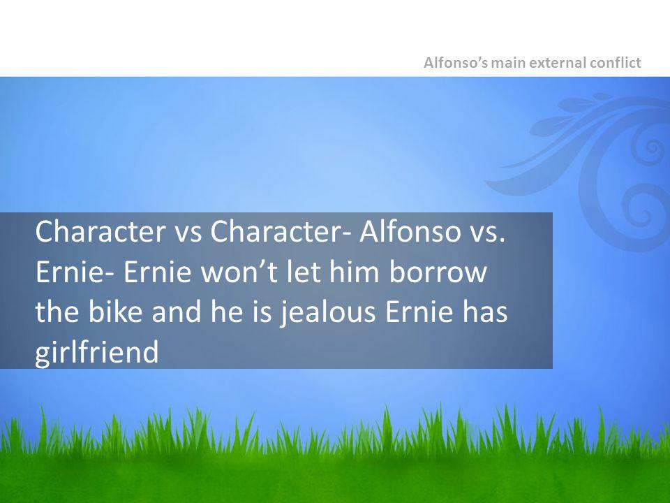 Character vs Character- Alfonso vs.