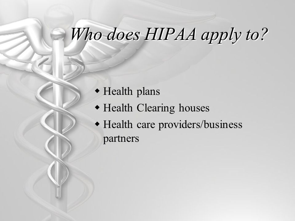 Major Components  Title I - Health Care Access, Portability and Renewability  Title II - Preventing Health Care Fraud and Abuse Medical Liability Reform Administrative Simplification  Title III - Tax Related Health Provision  Title IV - Group Health Plan Requirements  Title V - Revenue Offsets