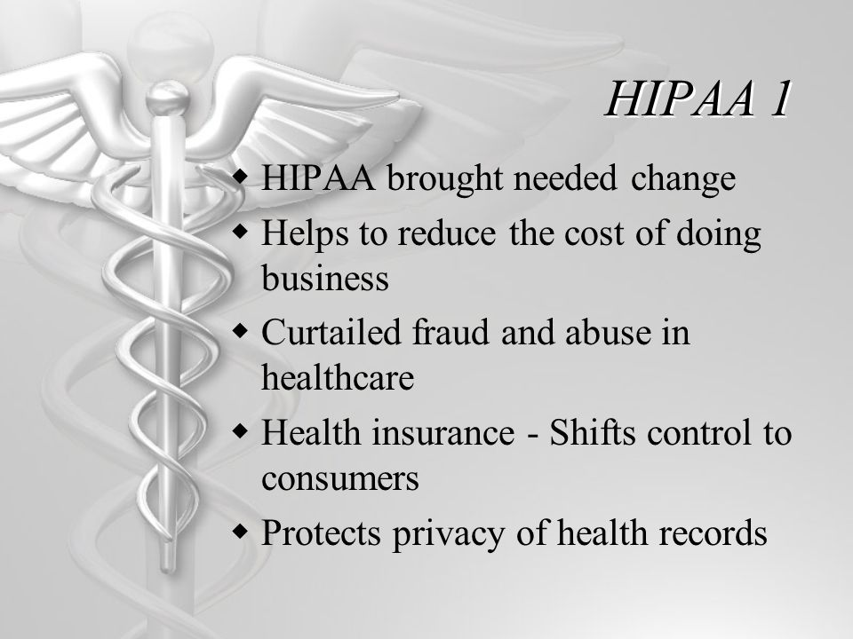 HIPAA II-Health Information Technology for Economic and Clinical Health Act  HITECH Act-originated from Title XIII of ARRA, 2009.