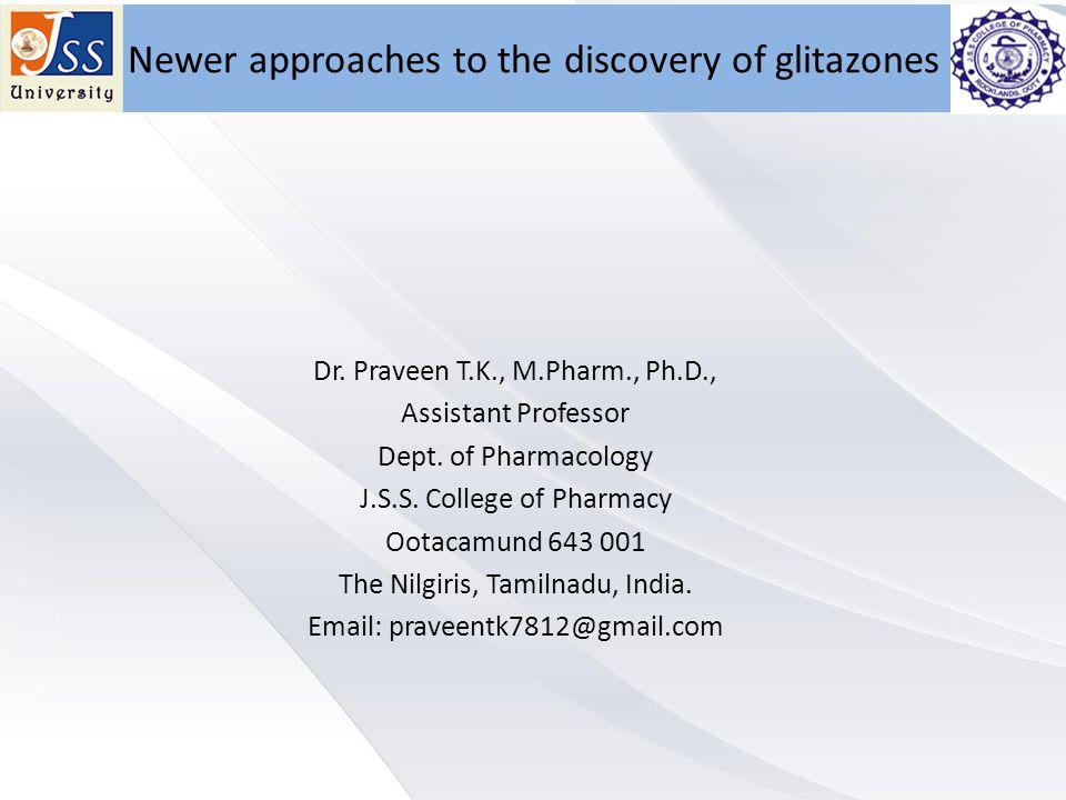 Dr. Praveen T.K., M.Pharm., Ph.D., Assistant Professor Dept.