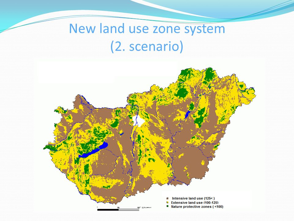 New land use zone system (2. scenario)