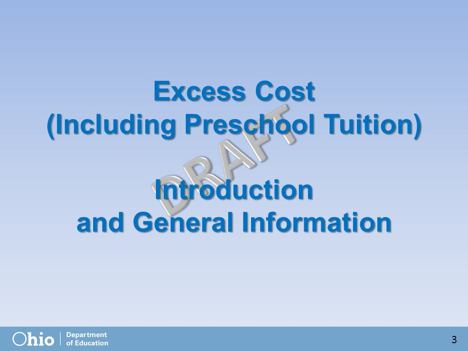 Excess Cost Certification (Specific Student) for 19 44