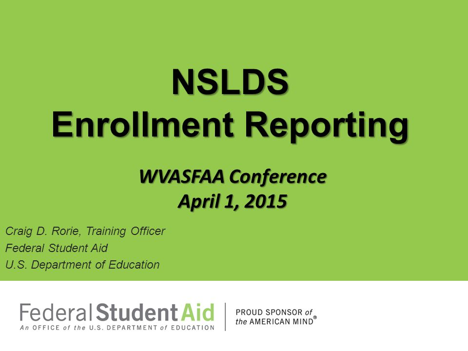 Enhancements to Student Contact Data On the NSLDS FAP web site, the Address History page, under the Aid tab, has been renamed Student Contact Information.