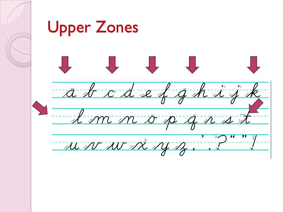 Upper Zones
