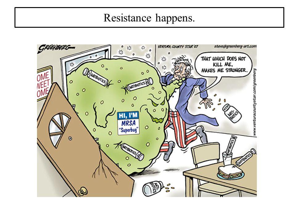 Resistance happens.