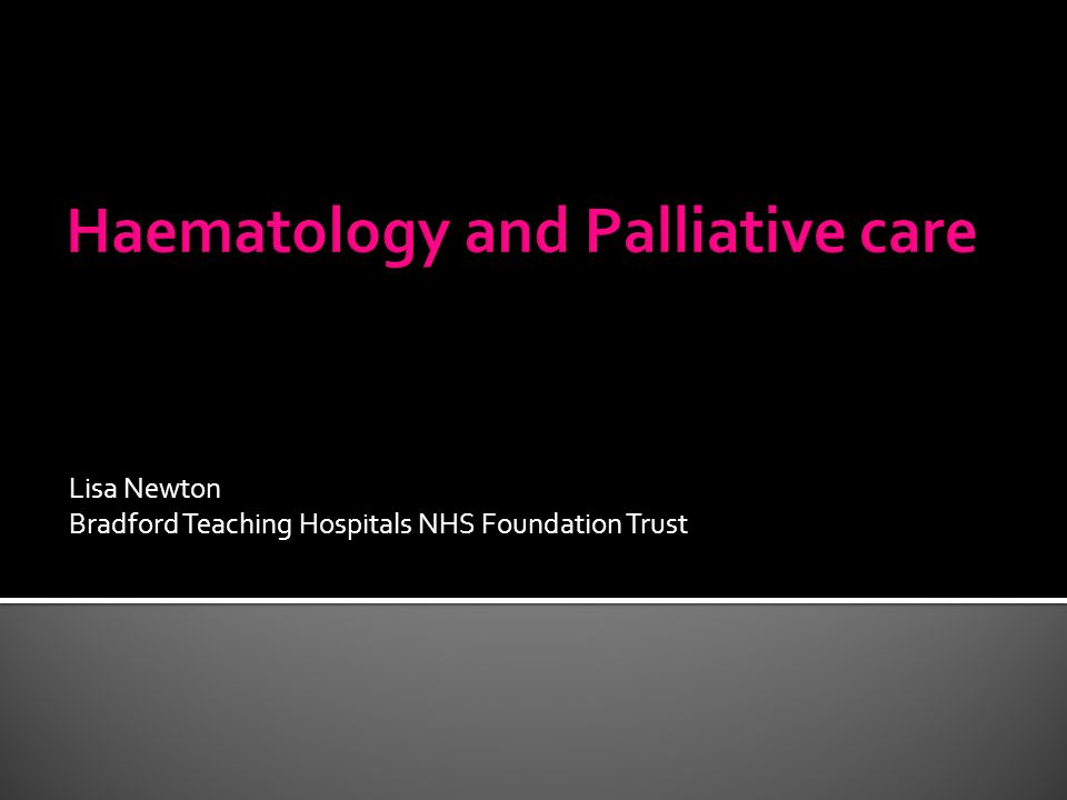 Lisa Newton Bradford Teaching Hospitals NHS Foundation Trust