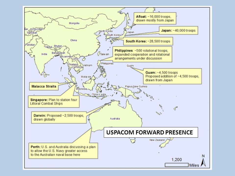 USPACOM FORWARD PRESENCE