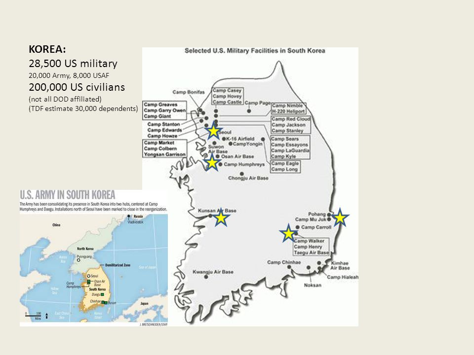 HAWAII: 50,000 US military 25,000.