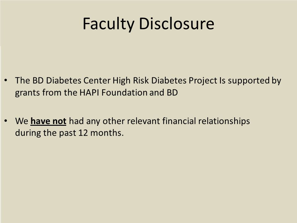 Relational Family Patterns Related to Diabetes Care: Disengagement Mother Father Child (11.6%)
