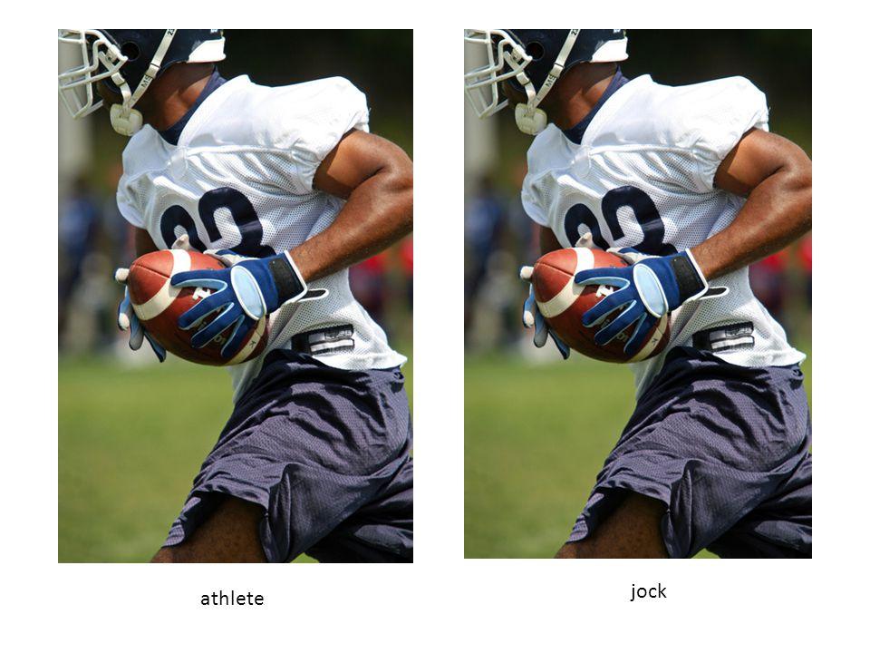 athlete jock